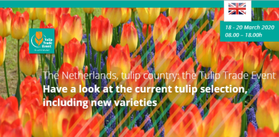 Tulip Trade Event    18-20 March